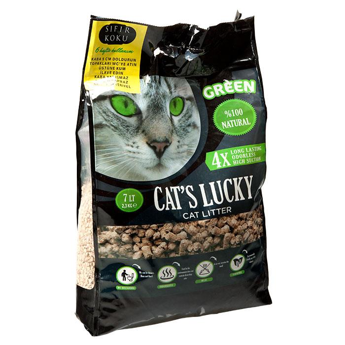CHAT-S LUCKY 7 LT GREEN CAT LITTER